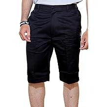 ASHDAN Men's Cotton Blend Regular Fit Shorts