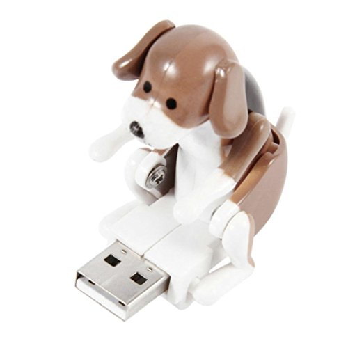USB Sticks Xinan Pet Bumsen Spot Dog Toy Relief Stress Weihnachten Geschenk (❤️, Braun)