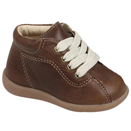 EN-FANT garçon bottillons premiers pas en cuir, brun, taille 22, 810126U-03 brun