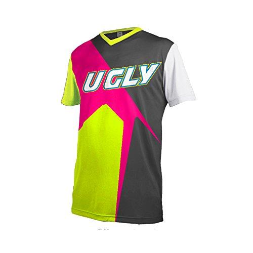 Uglyfrog 2018 New Bike Wear Herren Downhill/MTB Jersey Mountain Bike Shirt Fahrradtrikot Kurzarm Freeride BMX Top