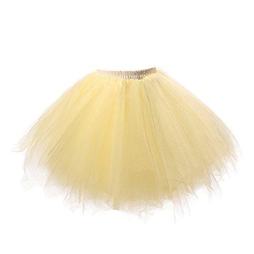 Honeystore Damen's Tutu Unterkleid Rock Abschlussball Abend Gelegenheit Zubehör ()