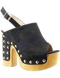 Tacones de madera zapatos y complementos - Tocones de madera ...