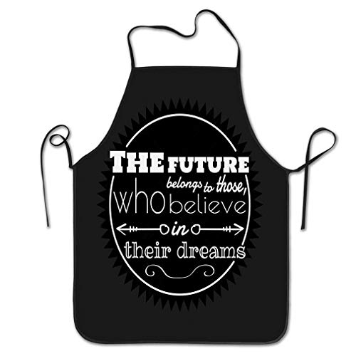 CVDFVFGB Funny Apron for Men Poster Quote Template Print Print Slogan Work Aprons for Home Shop Kitchen BBQ Cooking