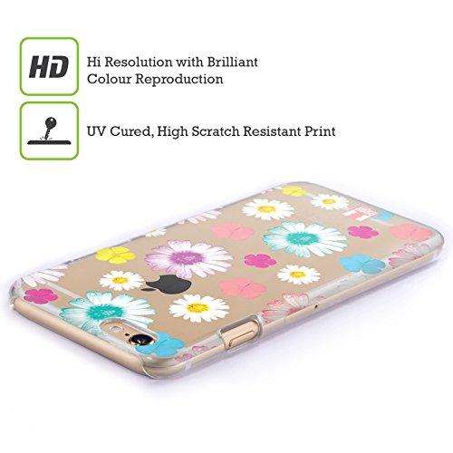 Head Case Designs Tropical Puissance De Fleur Étui Coque D'Arrière Rigide Pour Apple iPhone 6 / 6s Pâquerettes Colorées