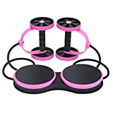 Kaiyei AB Wheel Musculation Abdo avec Roue Exercice Fitness Exercice Roulette...
