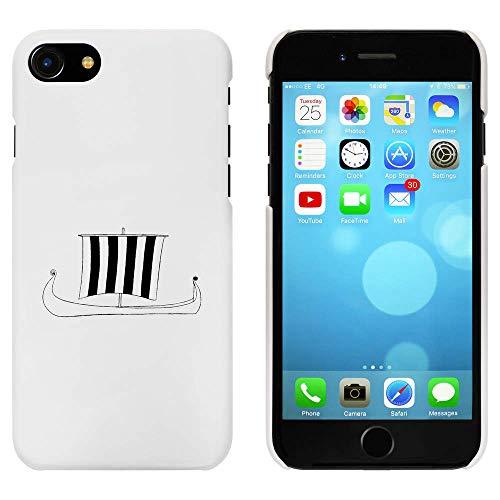 Azeeda Weiß 'Wikingerschiff' Hülle für iPhone 7 (MC00179914)