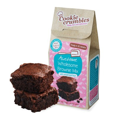 Cookie Crumbles - Awesome Wholesome Brownie Mix - 300g (Gourmet Muffin Mix)