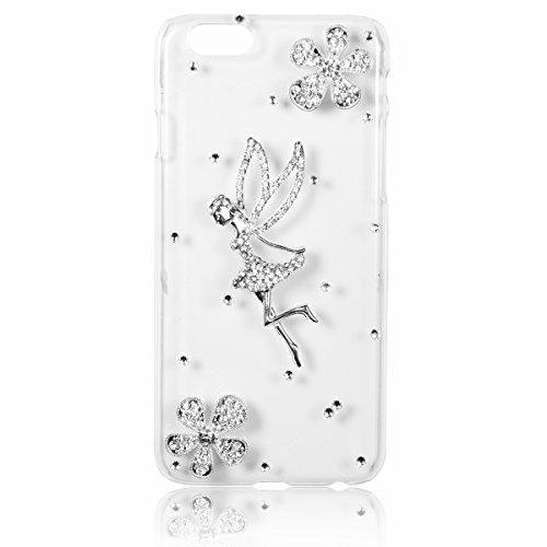 ngel Strass Handy Case Schutzhülle Tasche Hülle Rückenschutzhülle Etui für Apple iPhone 6(4,7
