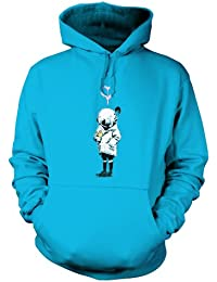 Banksy Space Girl And Bird Hoodie