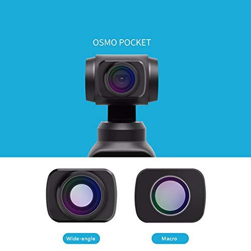 TianranRT Weitwinkel Makro Objektiv für DJI OSMO POCKET Handheld Kamera HD Anti-Shake