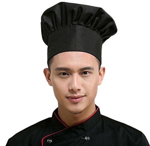 f494bdcbfc6 Leisial Gorro de Cocinero con Estilo Seta Chef de Cocina Sombrero de Hotel  Bar Restaurante Chef