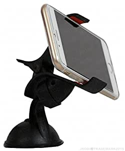 Universal 360 Degree Rotating Car / Desk Mount Mobile Holder Mobile Phone Stand Compitable For Samsung Galaxy S6 -Black