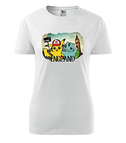 Colour Fashion -  T-shirt - Donna White