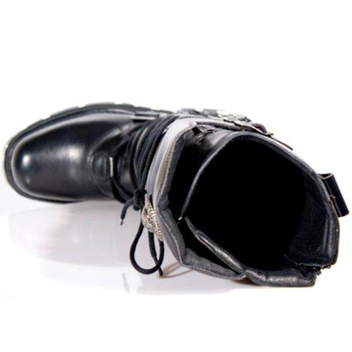 New Rock Boots Unisexe Botte - Style 272 S1 Noir Noir