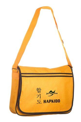 Retro Messenger Bag gold/schwarz Hapkido