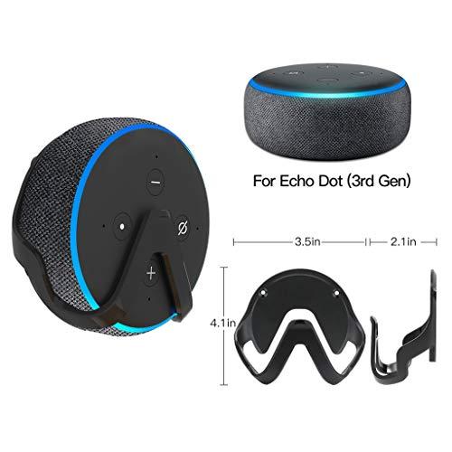 Der Beste Geschenk des Valentinsgrußes !! Beisoug Best Outlet Hanger Stand Outlet Wandhalterung Halter für Echo Dot 3. Generation