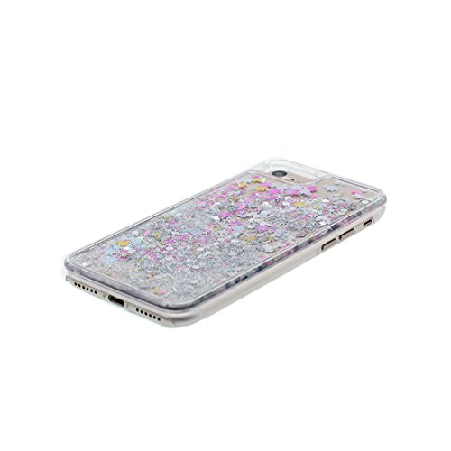 "Hülle iPhone 6, [ Liquid Fließendes Glitzer Bling Bling ] iPhone 6S Handyhülle Cover (4.7 zoll), iPhone 6 Case Shell (4.7"") Anti-Beulen & Ring Ständer- Make up Palette Lippenstift Parfüm # 6"