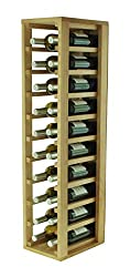 Expovinalia Wine Rack, Wood, Oak, 24 x 32 x 105 cm