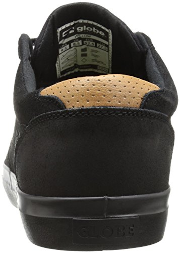 Globe Willow Hommes Daim Chaussure de Basket Black-Black