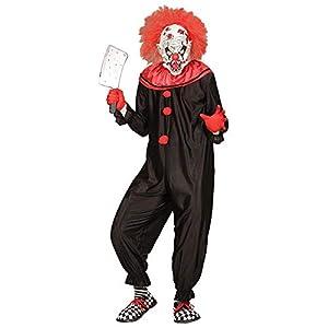 WIDMANN Sancto Disfraz de Payaso Asesino Adulto Halloween