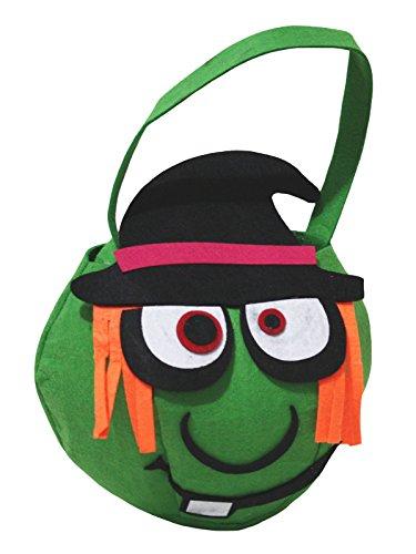 petitebelle Halloween Kostüm Hexe Party Zubehör Unisex Tasche Gr. One size, (Witch Girl School Costume)