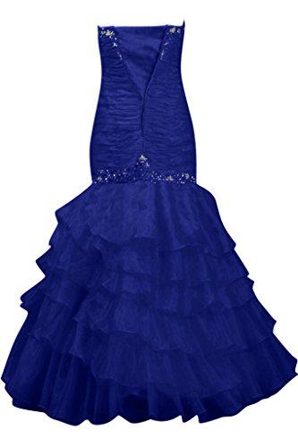 TOSKANA BRAUT - Robe - Sans bretelle - Femme Bleu - Bleu roi