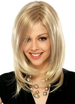 XNWP-Nuovo elegante capelli lunghi capelli ricci donna