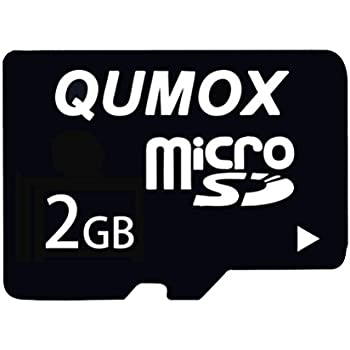 QUMOX 2GB MicroSD Tarjeta de Memoria Flash TF: Amazon.es: Electrónica