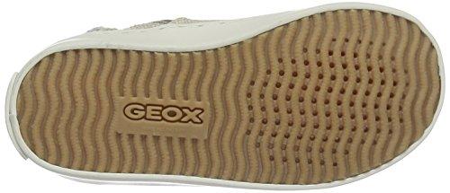 Geox Jr Kilwi Girl, Scarpe Da Ginnastica Alte Bambina Beige (Beige C5000)