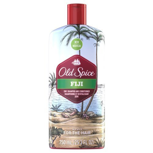 Old Spice Fiji 2in1 Shampoo And Conditioner 25.3 Oz, 25.300-Fluid Ounce by Old Spice