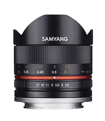iv Fisheye II APS-C Sony E manueller Fokus Fotoobjektiv, Superweitwinkelobjektiv schwarz ()