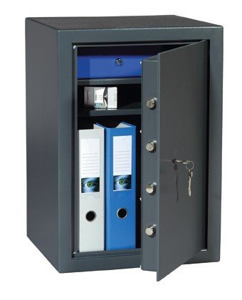 HIGH SECURITY SAFE £4,ooo cash rated Key locked Safe double walled -W x H x D 490mm x 660mm x