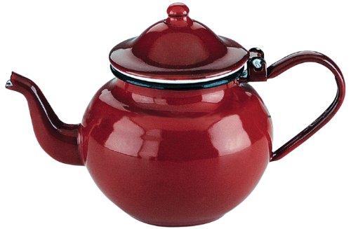 Ibili-910370-Teiera-in-acciaio-smaltato-da-075-l-colore-Rosso