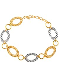 TBZ - The Original 22k Yellow Gold Charm Bracelet