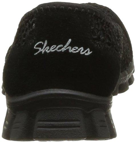 Skechers Ez Flex 2-Sweetpea, Formatori Donna Nero (Black)