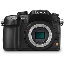 Panasonic Lumix DMC-GH3 16.05MP Live MOS 4608 x 3456Pixeles Negro - Cámara digital (Cámara compacta, Live MOS, 4608 x 3456 Pixeles, 4608 x 3456 3264 x 2448 2336 x 1752 1824 x 1368, 1:1, 3:2, 4:3, 16:9, 17,3 x 13 mm)