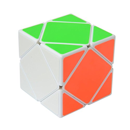 Pepperonz Skewb 3D Speed Puzzle Magic Cube Turns Quickly and Smoothly Brain Teasers for Adults or Kids