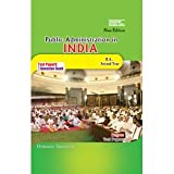 II Year - B.A - Public Administration In India - English Medium-Osmania University-Up to 2013 Paper