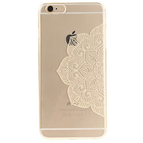Nutbro iPhone 6 Plus Case, iPhone 6S Plus Case Men's Women's Fashion Luxury Anti-knock TPU Soft Phone Cover Case TPU-TX-6S-Plus-55
