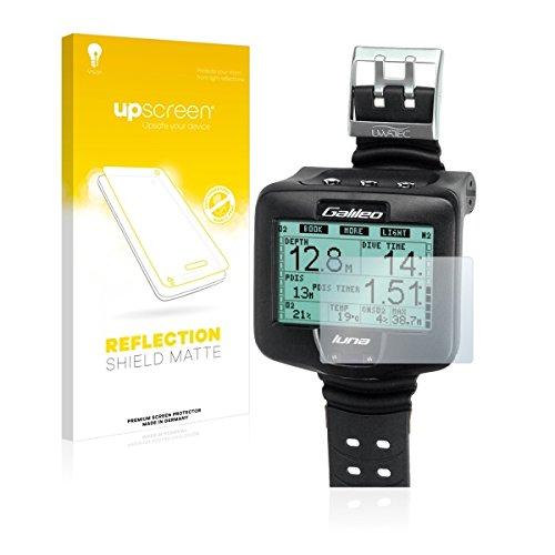upscreen Reflection Shield Matte Film de protection d'écran Uwatec Galileo Luna (Mat et Anti-Reflet, anti-trace, application sans soufflures, découpe sur mesure)