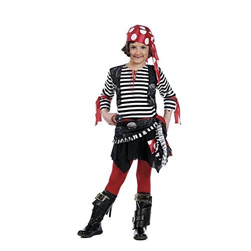 Limit Sport - Disfraz pirata marinera niña MI965