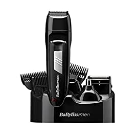 cordless rechargeable - 41skES0ztSL - Babyliss 7056CU Cordless Rechargeable 8 In 1 All Over Grooming Kit