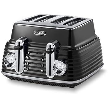DeLonghi Scultura Toaster CTZ 4003BK