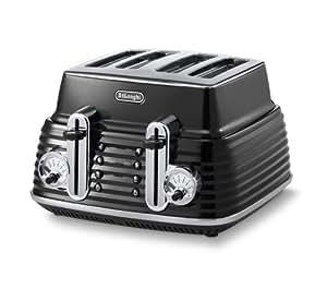 DeLonghi CTZ 4003.BK Scultura Toaster