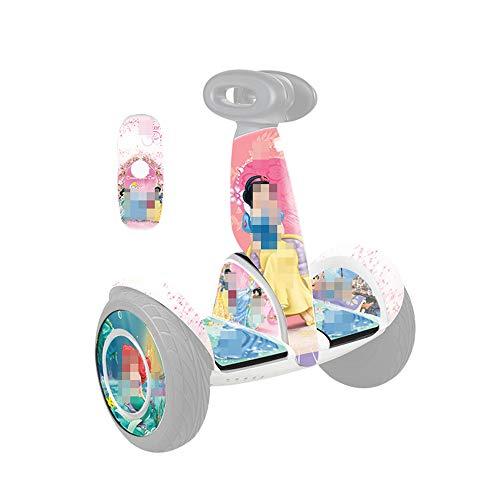 XULONG Elektro-Scooter Erwachsene, Gleichgewicht Auto DIY Zubehör, Anime Bunter Körper-Film, Wasserdicht und Verschleißschutz, Geeignet für Millet 9 Saldo Auto Plus