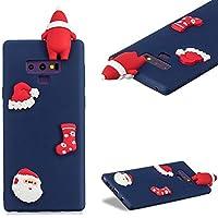 Handyhülle für Samsung Galaxy Note 9,CESTOR Luxus Niedlich [3D Weihnachtsmann Serie] Ultra Dünn Weich Flexibel... preisvergleich bei billige-tabletten.eu