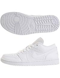 online retailer e797a cd62b Nike Jordan Scarpe Uomo Air Jordan 1 Low - Bianco, 44.5