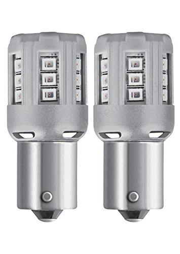 Osram lampa 12v ledriving retrofit led standard py21w bau15s 2 pz blister arancio