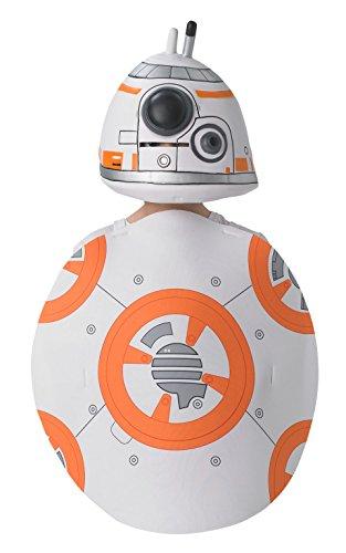 Rubie 's Offizielle Star Wars bb-8gildenwams und Hat, Kind Kostüm–Eine ()
