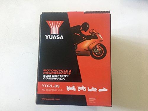 BATTERIA YUASA YTX7L-BS PER SH 150